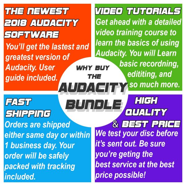 Audacity Software Premium Edition 2018 Releases | Computers Worth