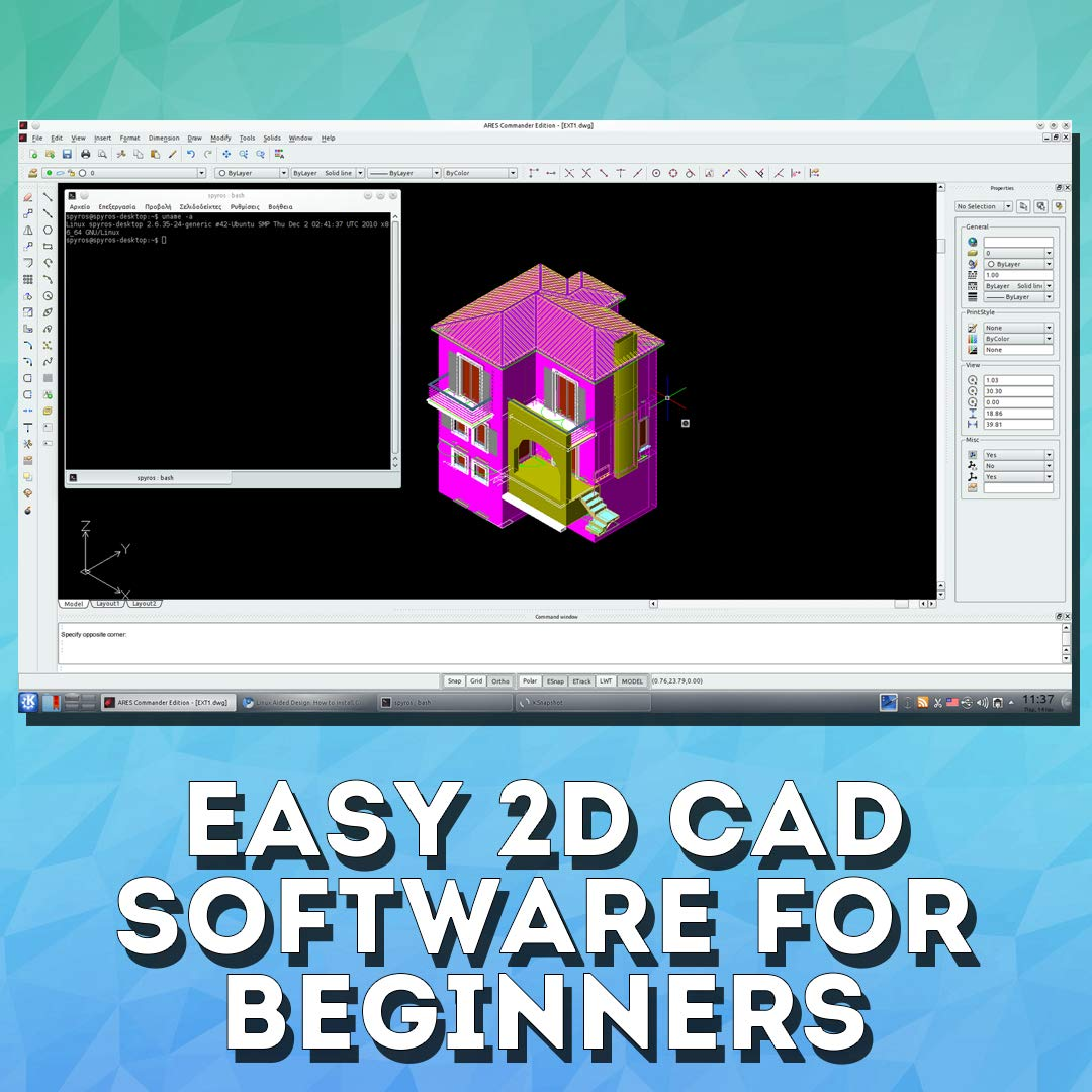 CAD 3D 2D Pro Software DVD Set, Complete Bundle For All Your Design Needs,  Full CAD Video Course 100+ Videos (Beginner to Advanced)