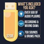 Music Editing USB