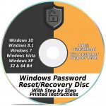 Password Reset CD