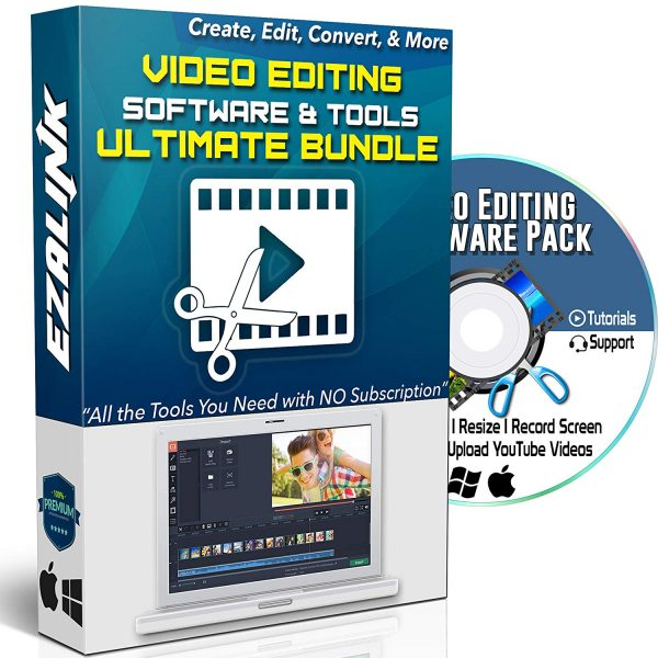 Video Editing Software DVD