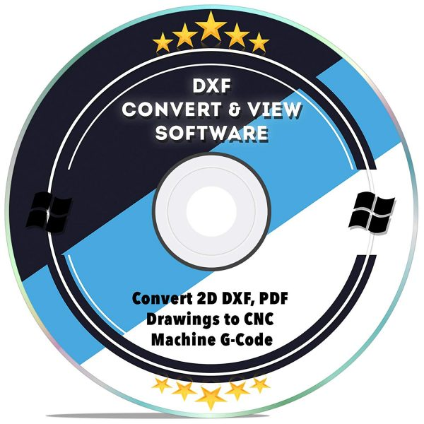 DXF CAD software, DXF Convert & View Software, 2D DXF, PDF