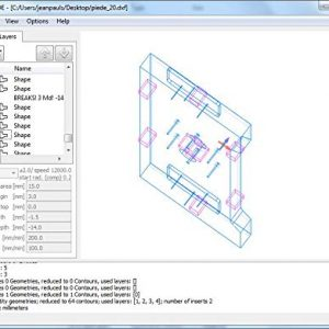 DXF CAD software