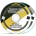 Windows Vista Recovery Installation Repair Disc