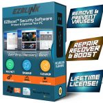 Total Security Antivirus Software for Windows Virus Protection Removal Scanner with PC Optimizer Tune Up Tools